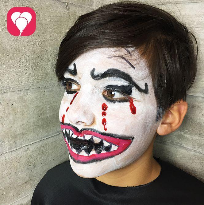 Ideen Fur Gruseliges Halloween Schminken Balloonas Gruselig Schminken Gruseliges Halloween Halloween Kostume Kinder