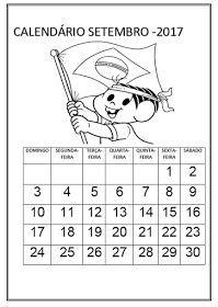 Calendario 2020 Para Imprimir E Colorir Calendario De Setembro