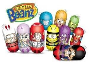 what was the name of early 2000 toy beans with faces on ...