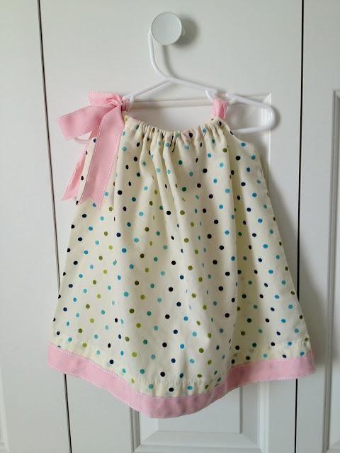 70765cda5 HACER UN VESTIDO NIÑA FÁCIL Vestidos Facil De Hacer, Hacer Vestido, Moda Para  Bebes