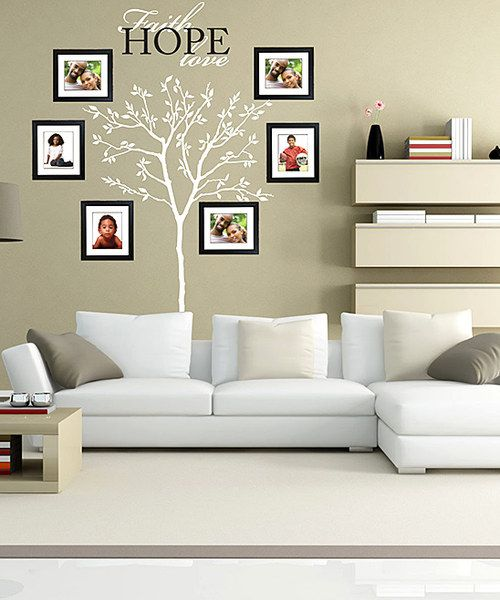 Celebrate A Unique Family With This Wall Decal And Picture