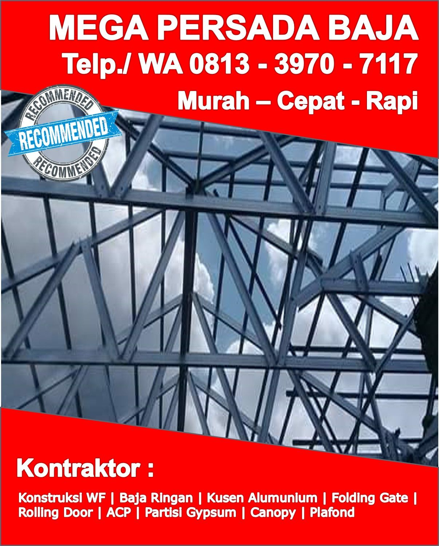 Harga Baja Ringan Taso Makassar Order Sekarang Telp Wa 0813 3970 7117 Model Joglo