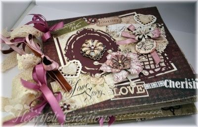 Heartfelt Creations | Love Story Book