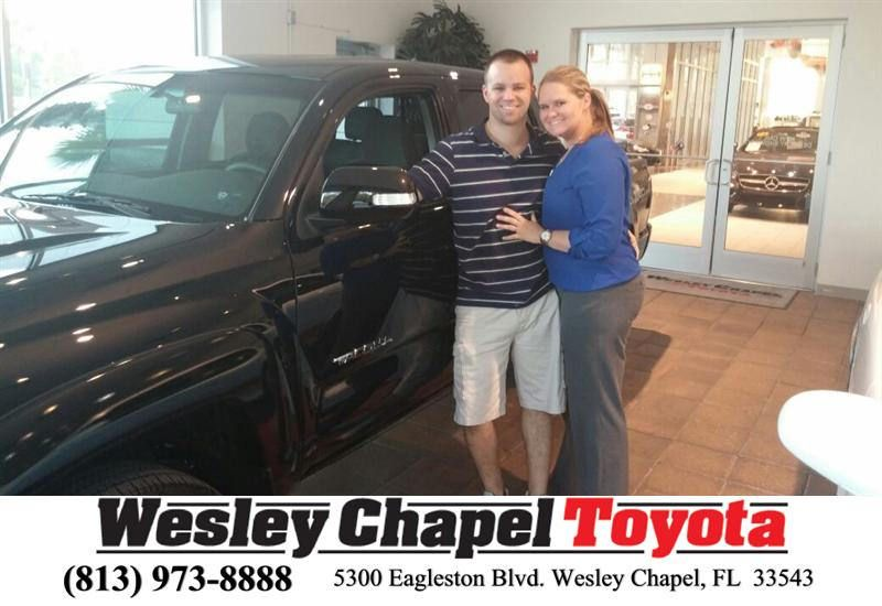 Congratulations to Tommy Glawson on your #Toyota #Tacoma purchase from Brett Morris at Wesley Chapel Toyota! #NewCar