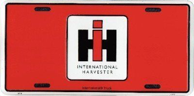 International Harvester License Plate Ih 6x12 Products