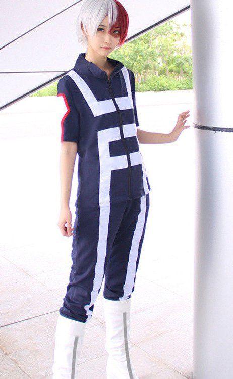 My Hero Academia - UA Gym Uniform Cosplay Costume (With images) - Todoroki cosplay, Ua uniforms, Cosplay costumes - 웹