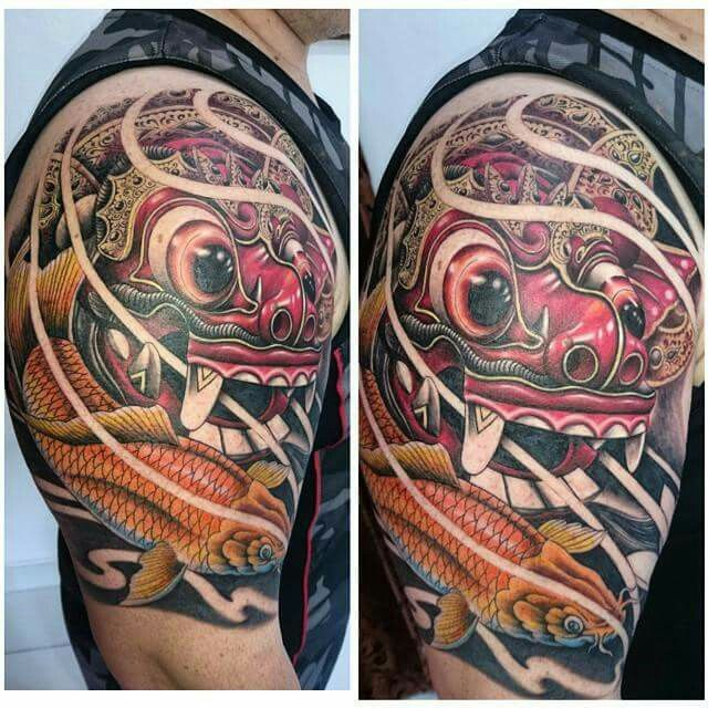 balinese barong mask tattoo paudy tattoos pinterest balinese tattoo and tattoo designs. Black Bedroom Furniture Sets. Home Design Ideas