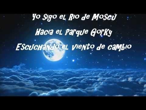 Scorpions Wind Of Change Subtitulado Al Español Scorpions Wind Of Change Wind Of Change Wind