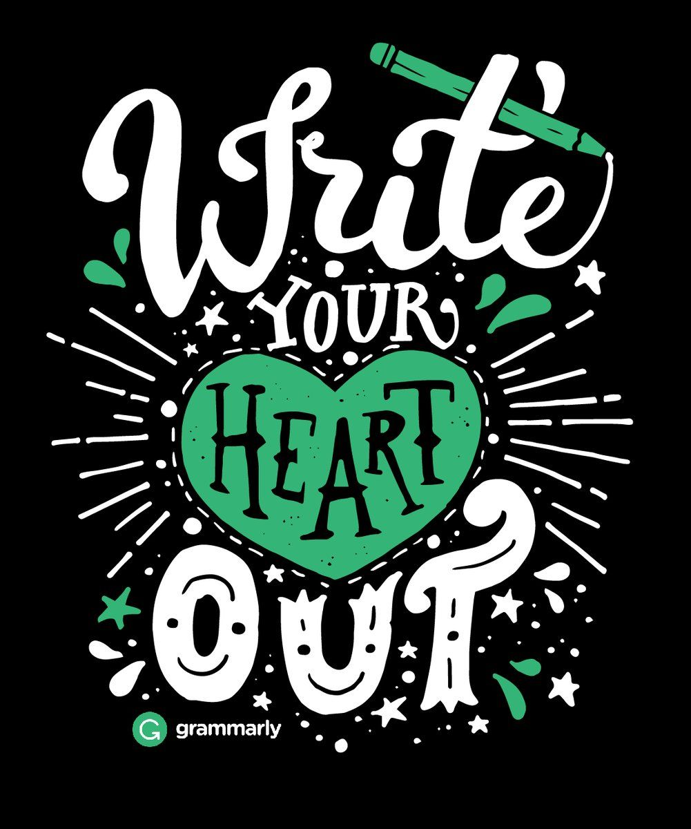 Helping You Write With HEART! Please join our team...   https://www.facebook.com/groups/640852952783125/