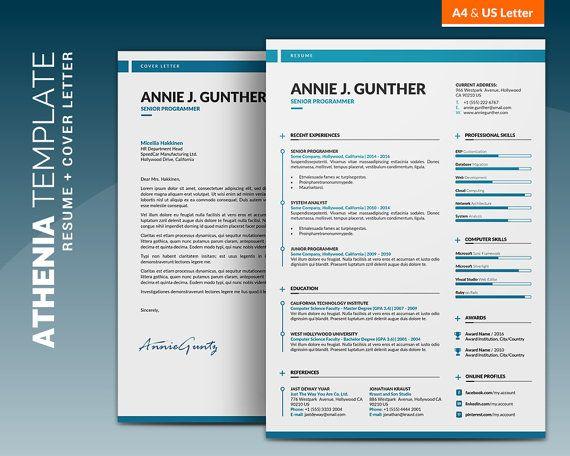 Creative Resume Template Curriculum Vitae Creative And Clean