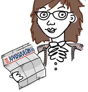 Johanna, columnist @ Suur-Jyväskylän Lehti