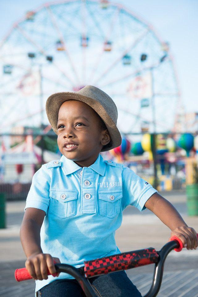 222cda426 Boy at Coney Island. Beautiful Portrait. Ferris Wheel. Boardwalk - Stylish  & Hip Kids: Boutique Photography in NYC for Kids, Maternity & Families