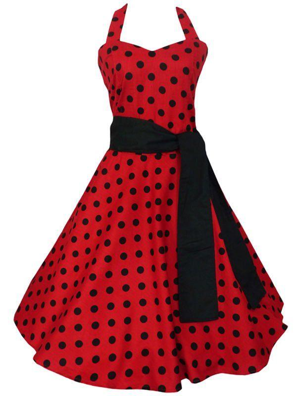 96a3073d83830 vestido estilo pin up. Imagen relacionada Vestidos De Mujer ...