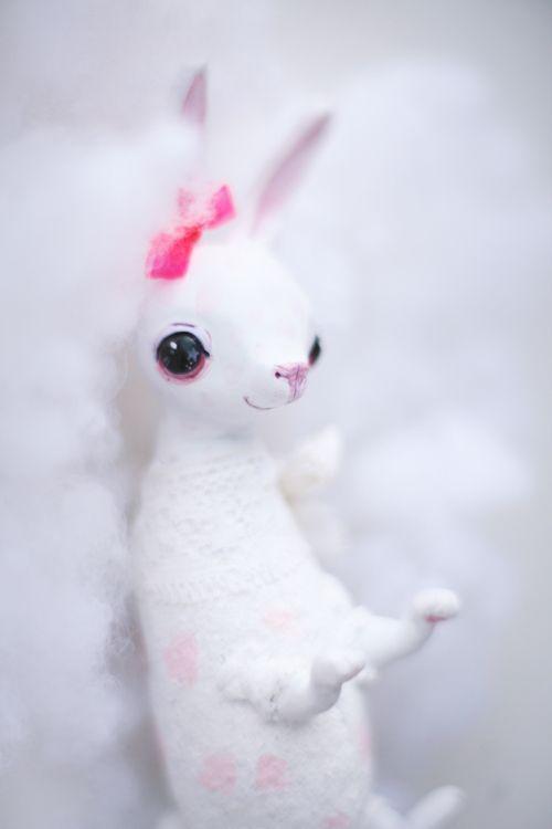 white rabbit by da-bu-di-bu-da.deviantart.com on @deviantART