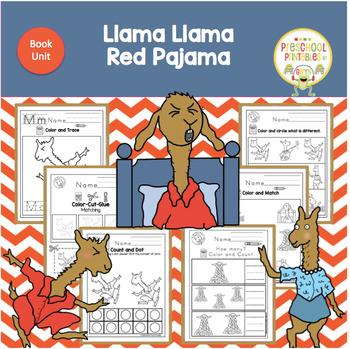 Llama Llama Red Pajama Book Unit Llama Llama Red Pajama Red