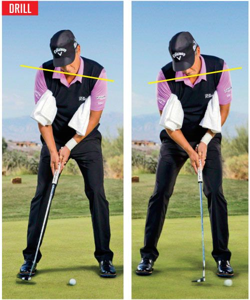 Here's a drill I use to make sure my stroke is tight and