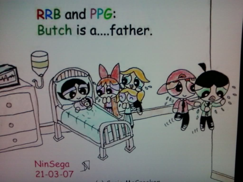Ppg Buttercup And Butch - Google Search  Powderpuff Girls -6044