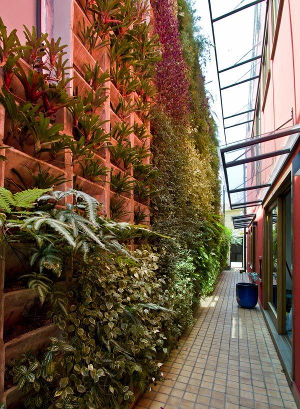 Jardin vertical O u t d o o r Pinterest Jardines, Jardines