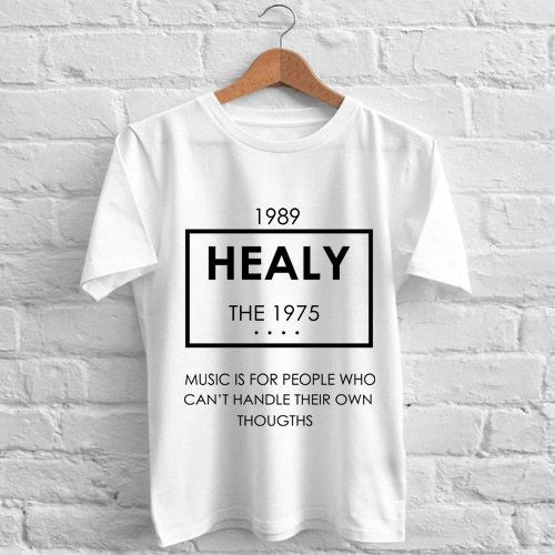 2936b10c4 The 1975 Healy T-Shirt gift shirt Tees Adult Unisex custom clothing Size  S-3XL //Price: $11.99 //