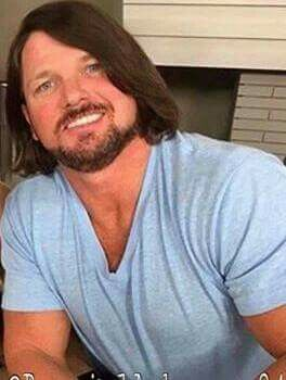 Love His Eyes And Everything Bout Him Aj Styles Long Hair Styles Men Professional Wrestling
