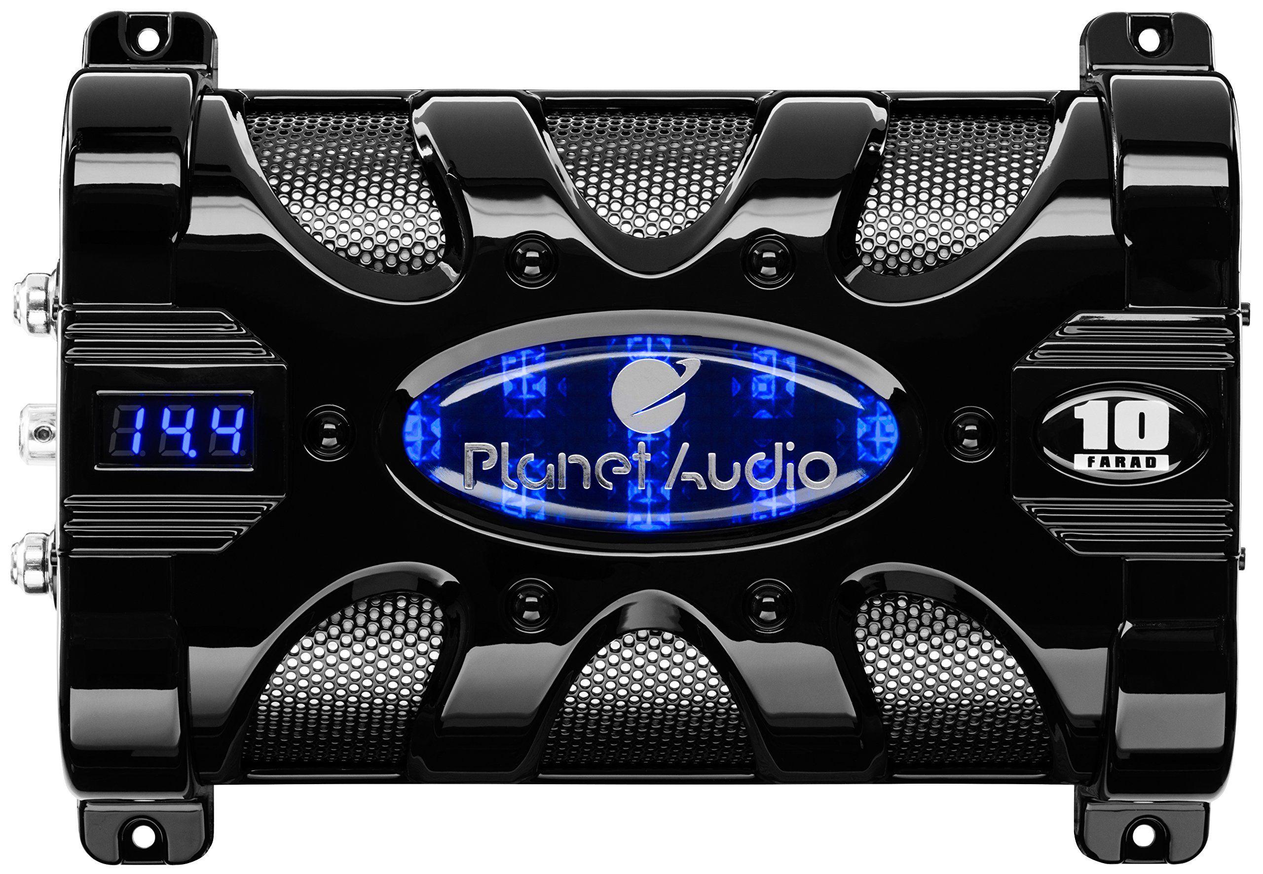 Planet Audio Pc20f 20 Farad Capacitor Car Audio Capacitor Audio System Car Audio Systems
