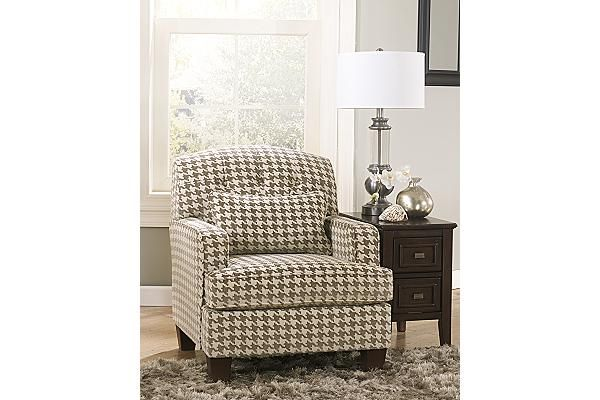 Ashley Furniture I Need This Houndstooth Chair Fabric Accent