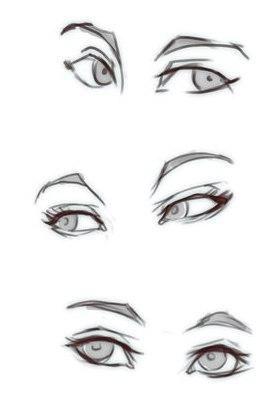 Manga Eyes Side View Olhos Desenho Desenho De Olho Tutoriais De Desenho