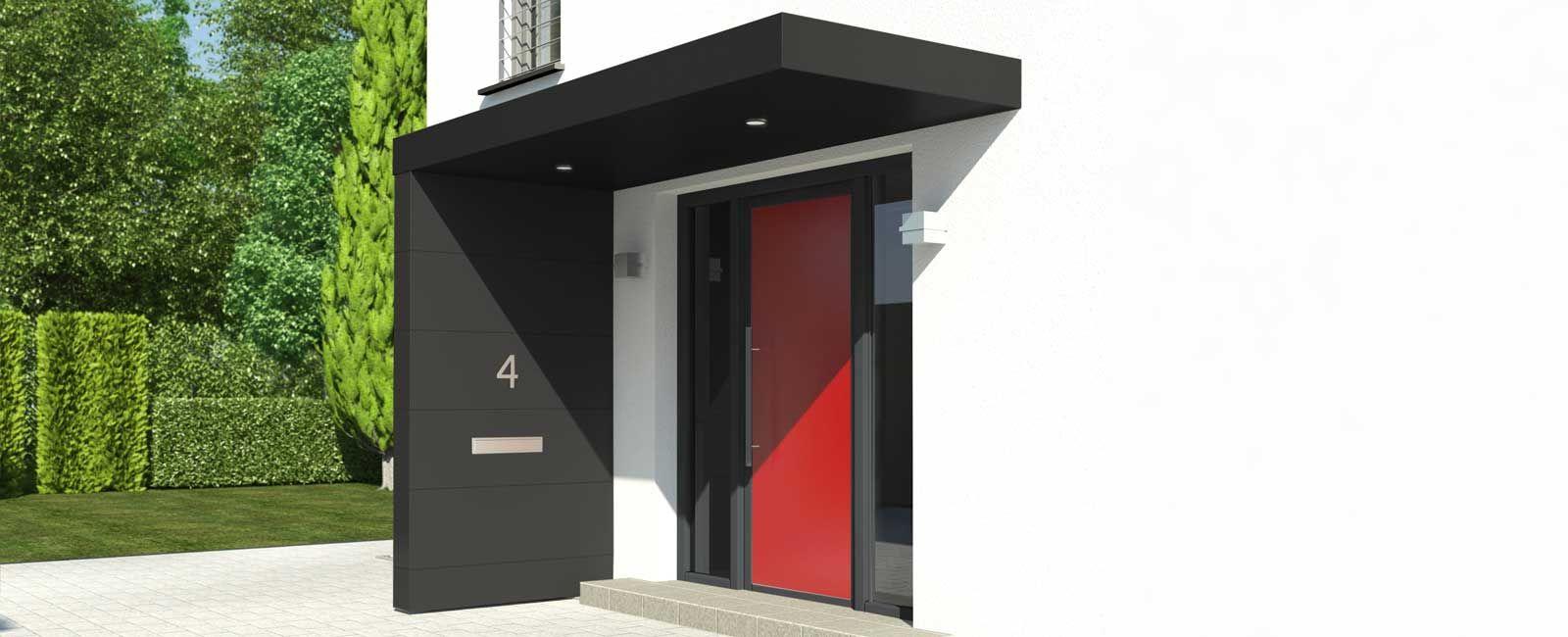 Eingangsuberdachung Beton Google Suche Sanierung Design Ideen Eingang Uberdachung