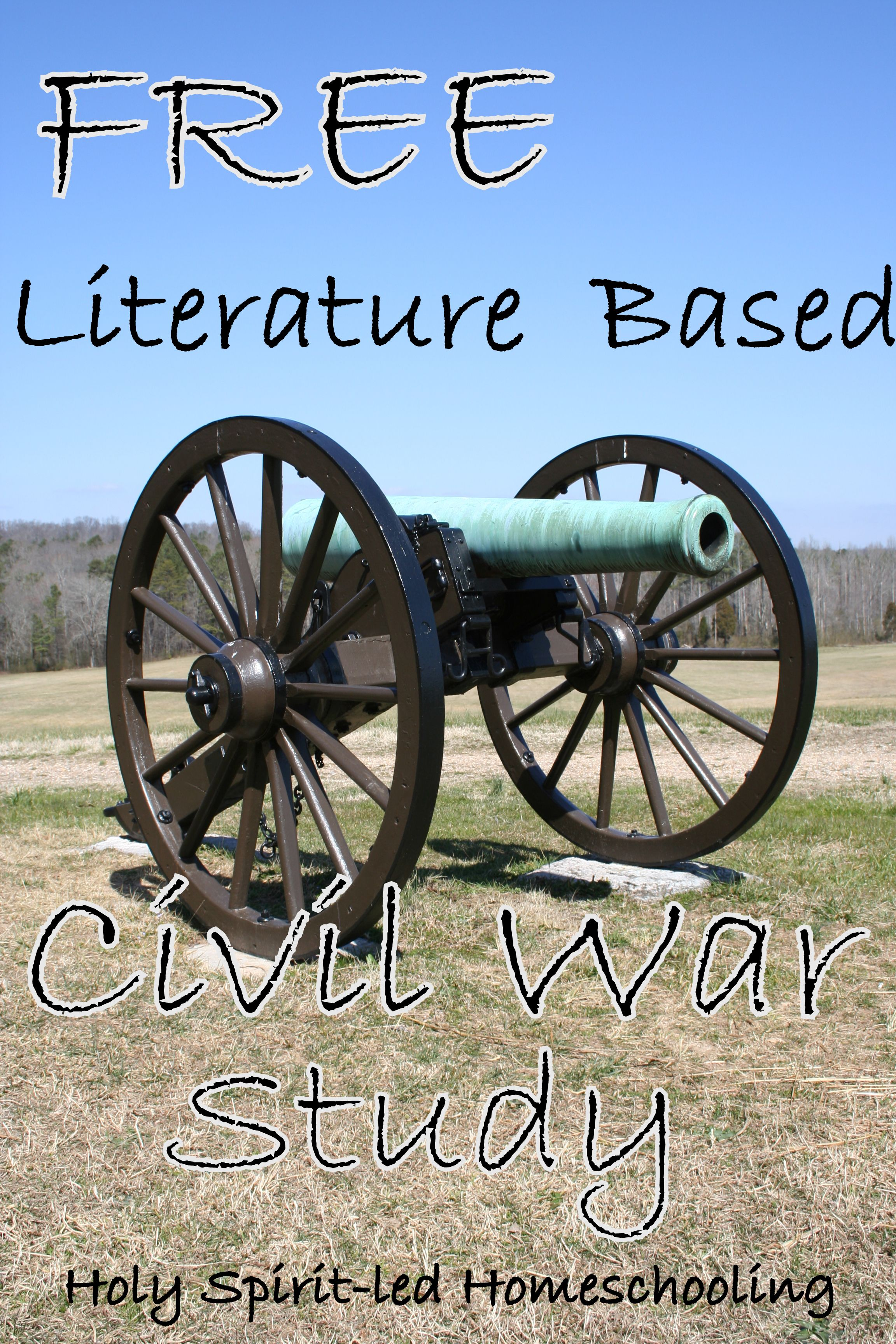 07 25 12 Free Literature Based Curriculum On The Civil War From Holy
