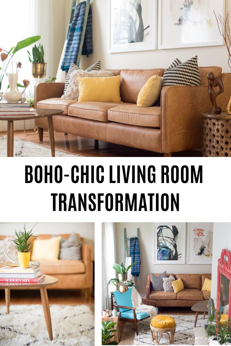 Fun And Bright Boho Living Room Decor Boho Living Room Boho