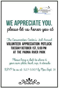 15 Tips For Planning a Volunteer Appreciation Event ...