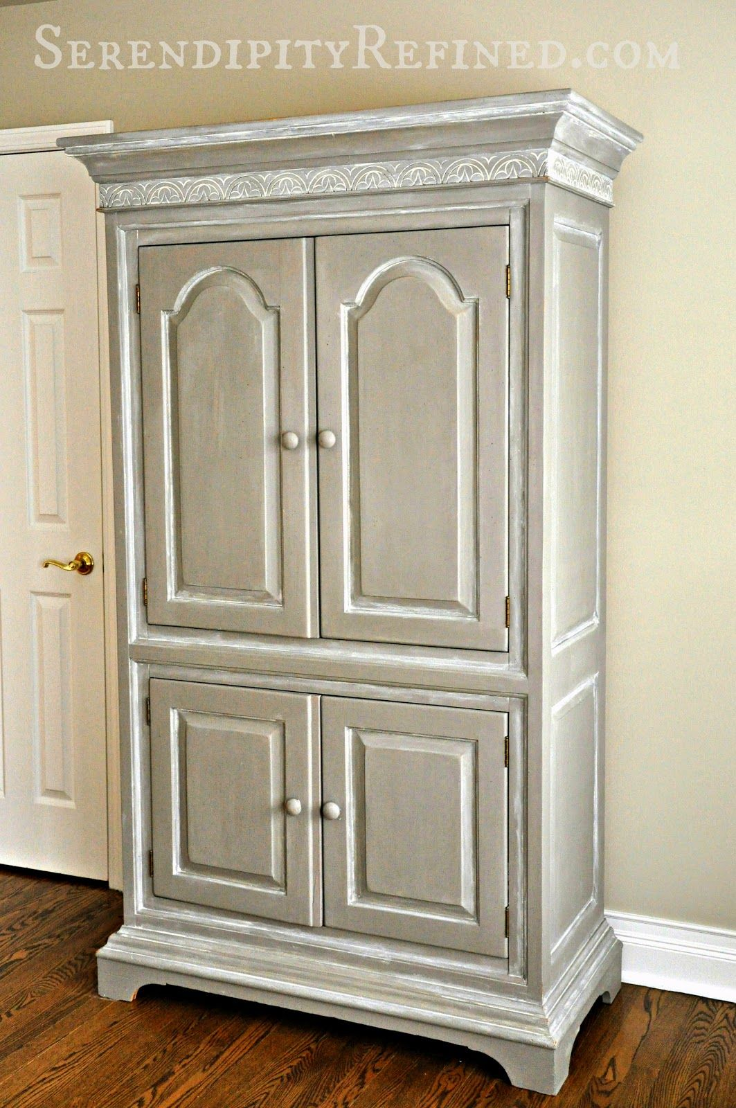A blog about farmhouse French Country Style. DIY, decorating on a budget.  Found. Armoire RedoArmoire MakeoverPainted ...