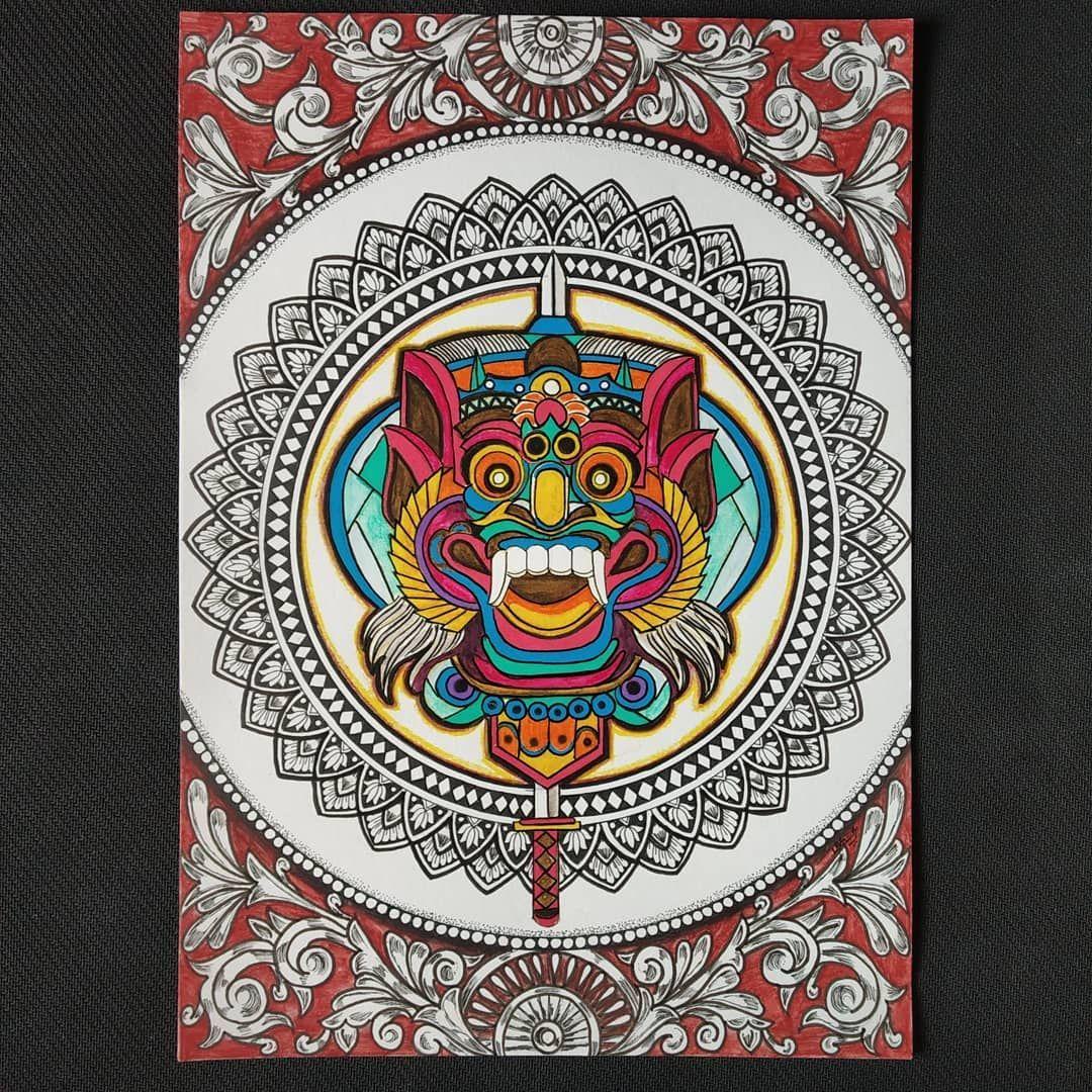 HAPPY 2ND ANNIVERSARY🌸 To MANDALA ART INDONESIA Theme