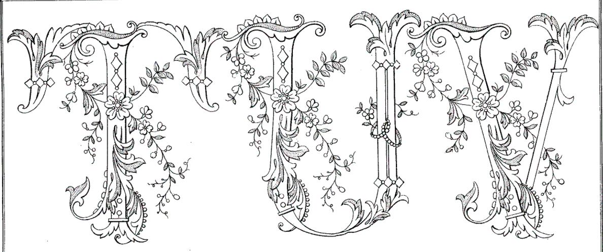 Pin de Juana en bordados   Pinterest   Monogramas, Letras y Bordado