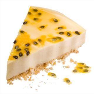 Cheesecake De Maracuyá Y Requesón La Lechera Food Cheesecake Desserts