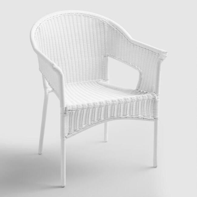 All Weather Garden Chair Dining Covers In Grey White Wicker Stacking Tub Chairs Set Of 2 V1 150