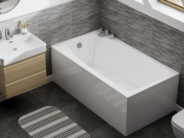 small-compact-bath-attic-bathroom-studio-800x600 | Space saving baths,  Attic bathroom, Space saving