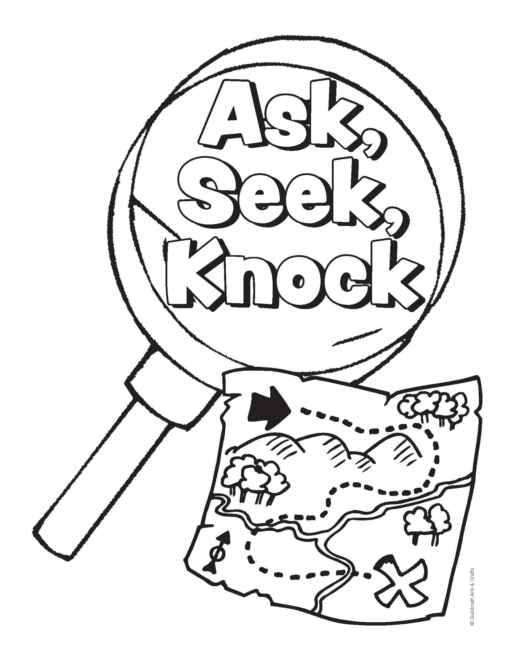 Free #VBS coloring sheets from Guildcraft Arts & Crafts! # ...
