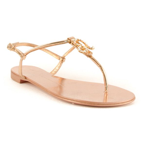 Giuseppe Zanotti - Zodiac Leo Sandals Shoes found on Polyvore