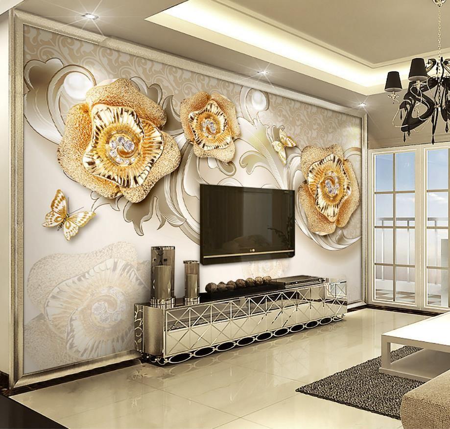 Wall Mural For Living Room European 3d Wallpaper Nature Photo Wallpaper 3d Wall Murals 3 D