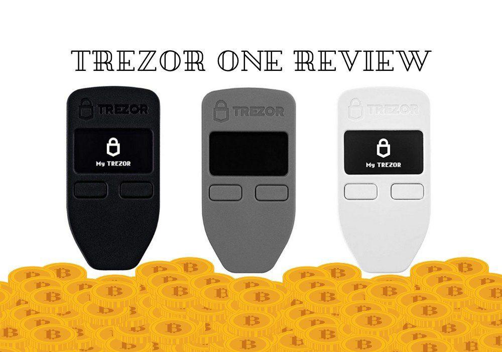 Trezor One Bitcoin Wallet Bitcoin wallet, Bitcoin