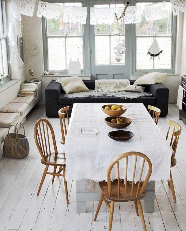 Aménager un salon salle à manger  astuces déco et conseils Living