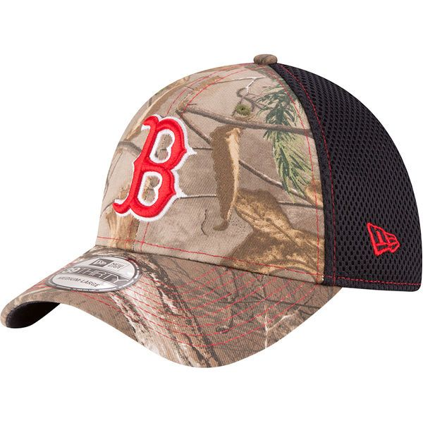 967f3112bd4 ... free shipping mens boston red sox new era realtree camo navy neo  39thirty flex hat your