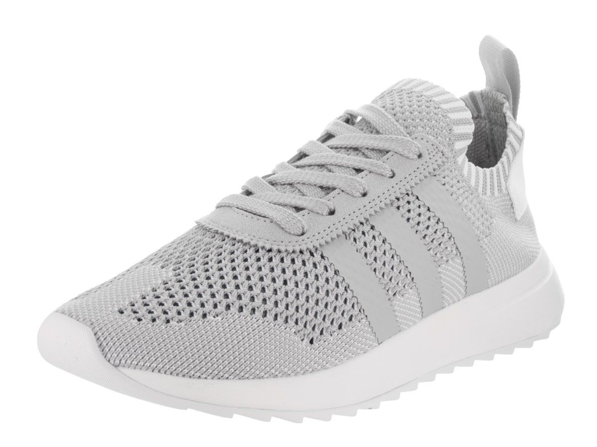 Flashback W Primeknit Ladies in Clear Onyx/White by Adidas, 10