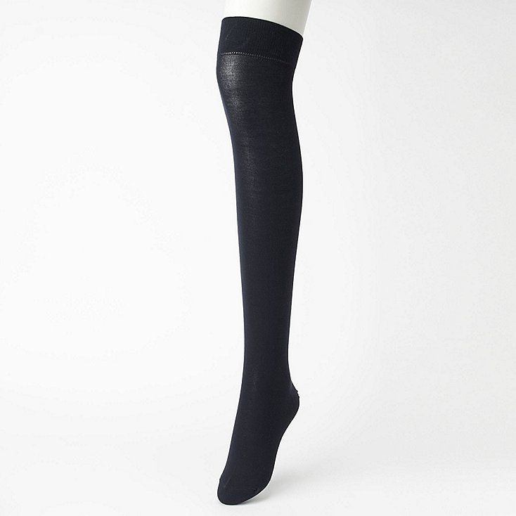 9f505792cbb Women heattech over-the-knee socks (2 pairs) in 2019