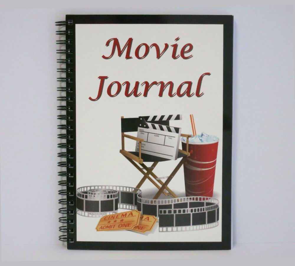 Movie Journal perfect for movie lovers, now available: https://www ...