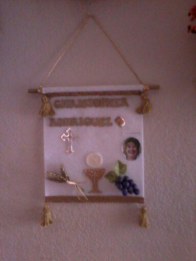 Christophers' First Communion Banner