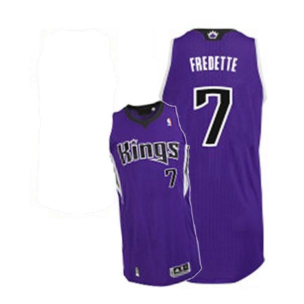 6167c841420 Jimmer Fredette Authentic Jersey - Purple  7 Road Revolution 30 Sacramento  Kings Adidas NBA Jersey (L 50)