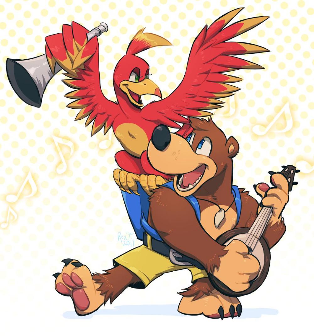 Moved Strayedtiger On Twitter Banjo Kazooie Banjo Smash Bros