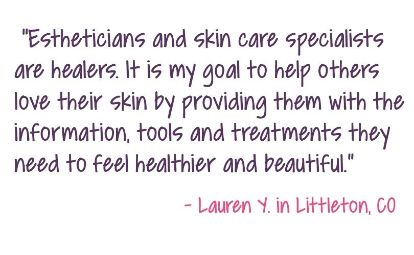 Esthetician Training Education Program Cost And Licensing Esthetician Quotes Esthetician Skin Therapist
